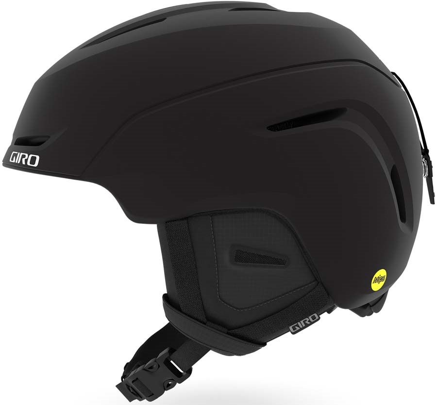 Giro NEO MIPS Snowboard/Ski Helmet, XL Matte Black