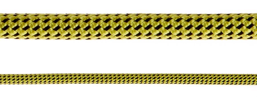 Black Diamond 7.0 Dry Rock Climbing Rope - 60m, Yellow