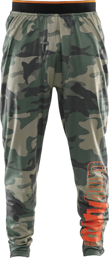 thirtytwo RideLite Pant Thermal Base Layer Bottoms, XL Camo