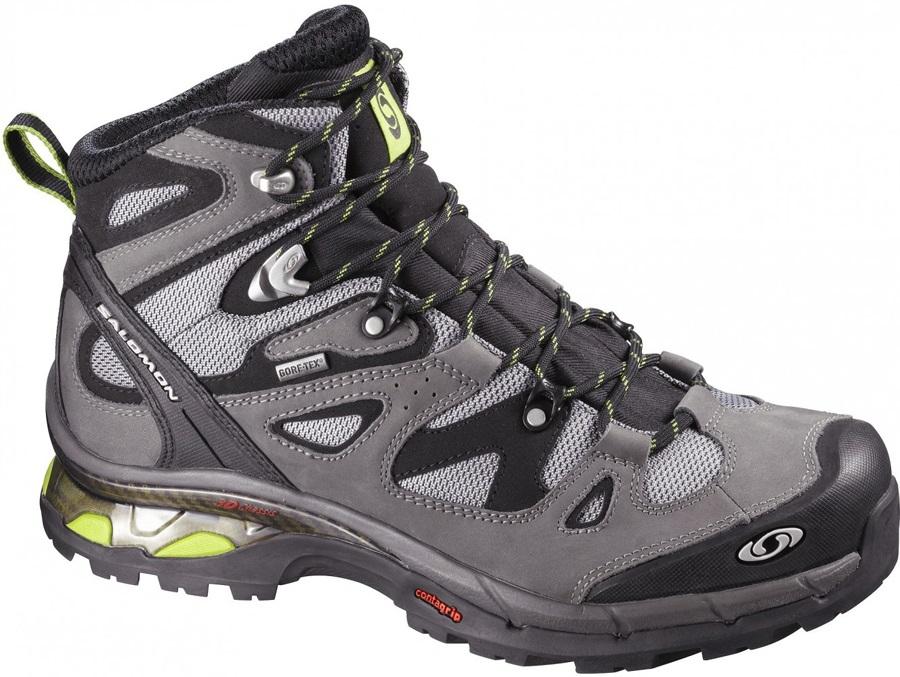 2d07721c Salomon Comet 3D Gore-Tex Hiking Boots, UK 11, Grey/Green