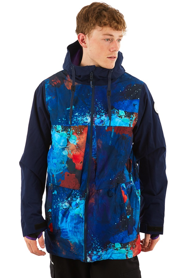 Armada Carson Insulated Snowboard/Ski Jacket, M Galaxy