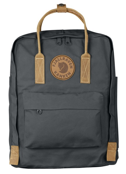 Fjallraven Kanken No.2 Backpack, 16L Super Grey