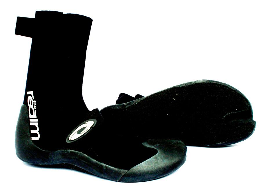Realm Nada 2 Mm Wetsuit Boot, UK 12+, Black