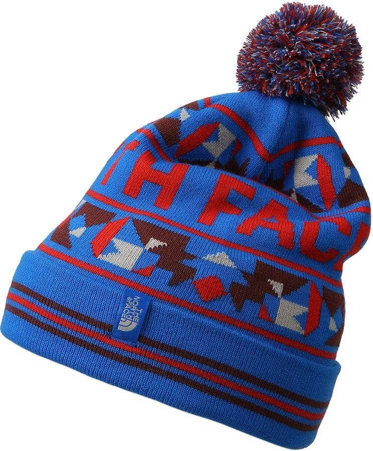 36f71ace2 The North Face Ski Tuke V Winter Bobble Hat, Bomber Blue