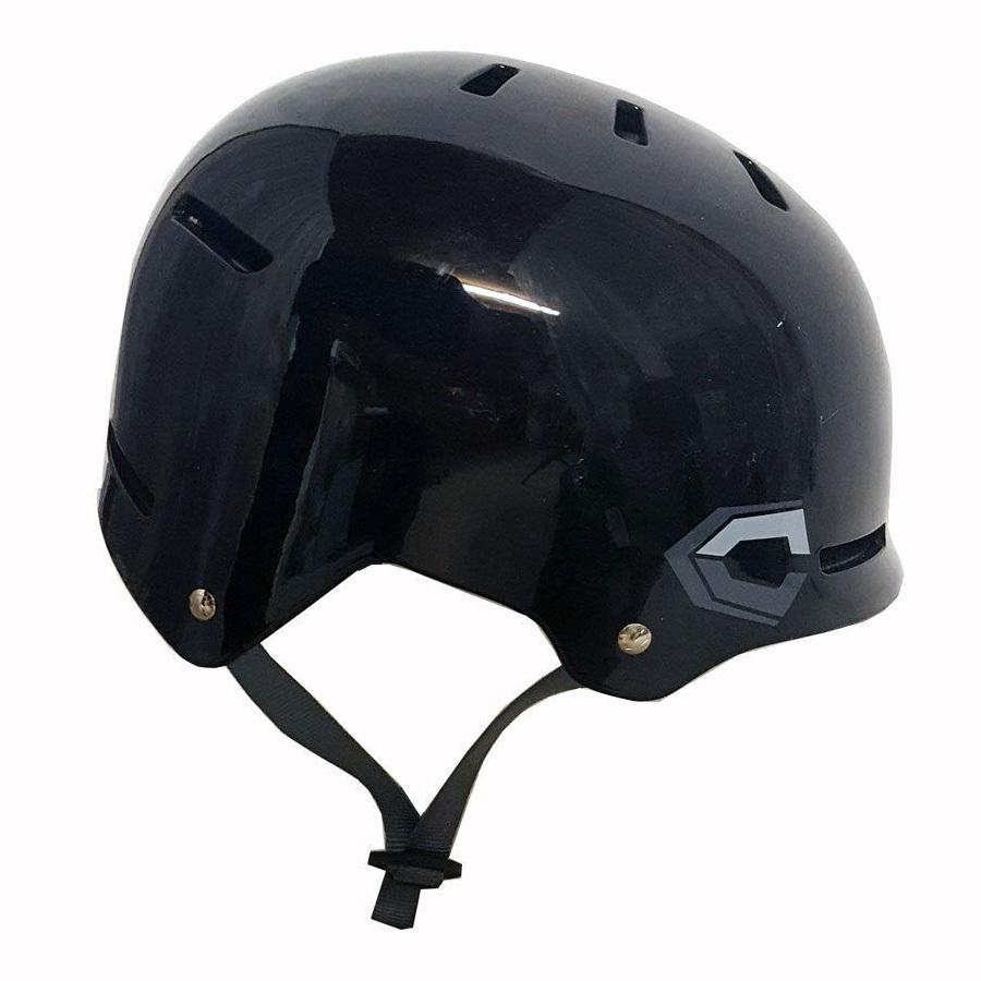 Capix Closer Skate/BMX Helmet, L/XL, Black