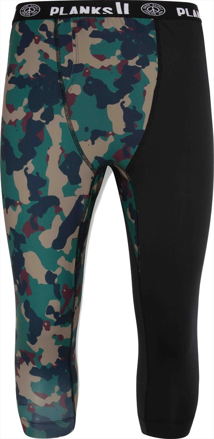 Planks Fall-Line Base Layer Thermal Bottoms, XL Autumn Camo
