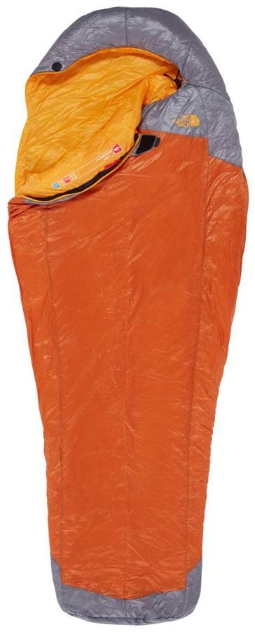 The North Face Lynx Lightweight Sleeping Bag, Regular Sunset RH Zip