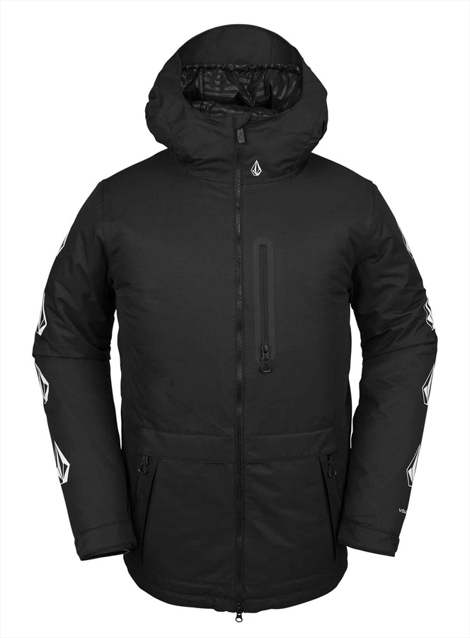 Volcom Deadly Stones Insulated Ski/Snowboard Jacket M Black