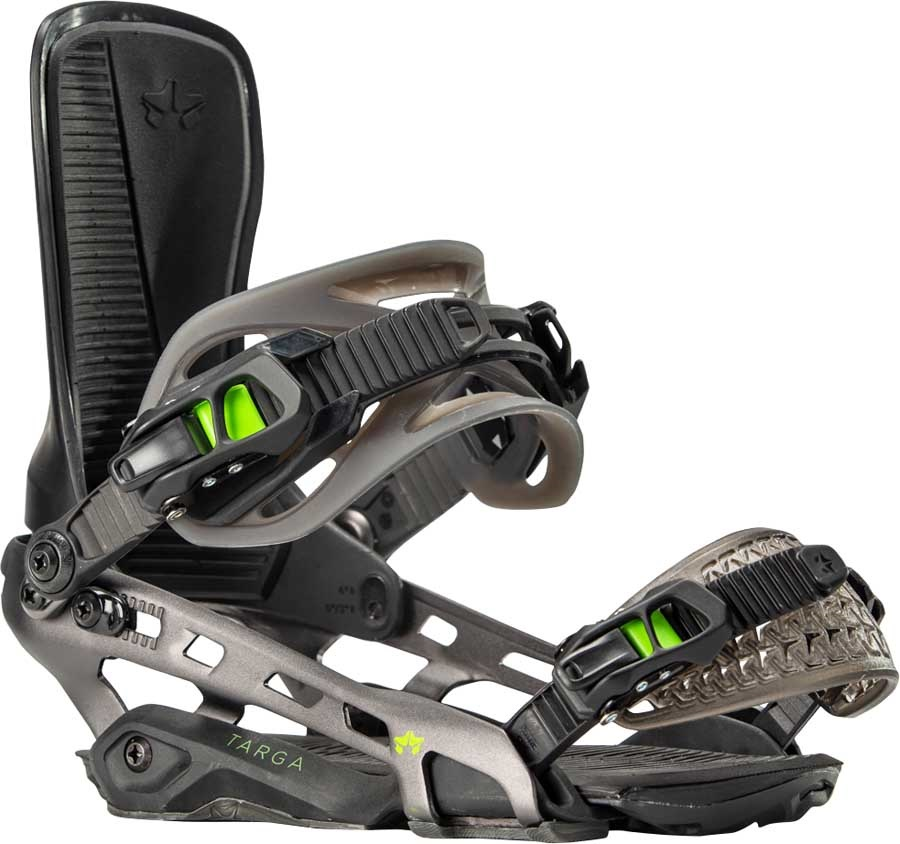 Rome Targa Snowboard Bindings, S/M Black 2020