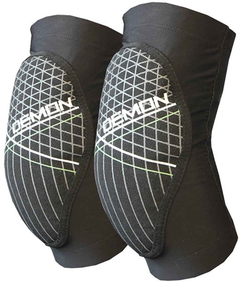 Demon Soft Cap X D3O Ski/Snowboard Elbow Pads XL Black