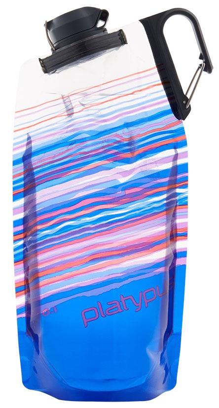 Platypus Duolock Softbottle Flexible Water Bottle, 750ml Blue Skyline