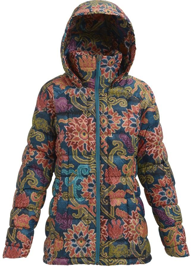 Burton [ak] Baker Down Womens Puffa Snowboard Jacket, S Luca Print