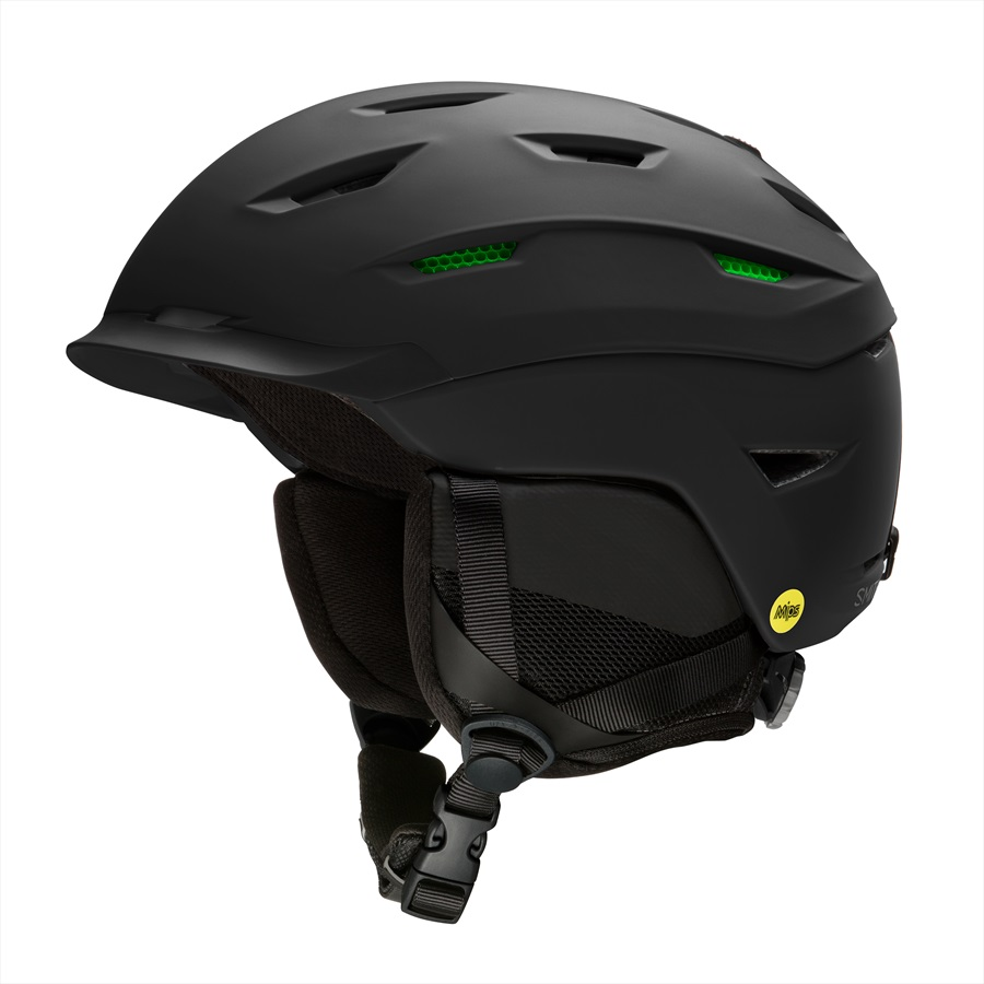Smith Adult Unisex Level MIPS Snowboard/Ski Helmet, S Matte Black