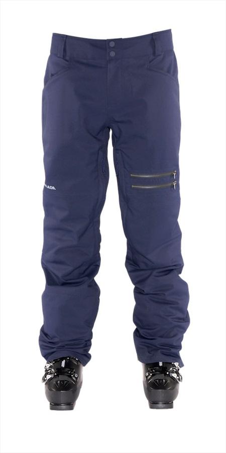 Armada Atmore Stretch Snowboarding/Ski Pants, L Navy