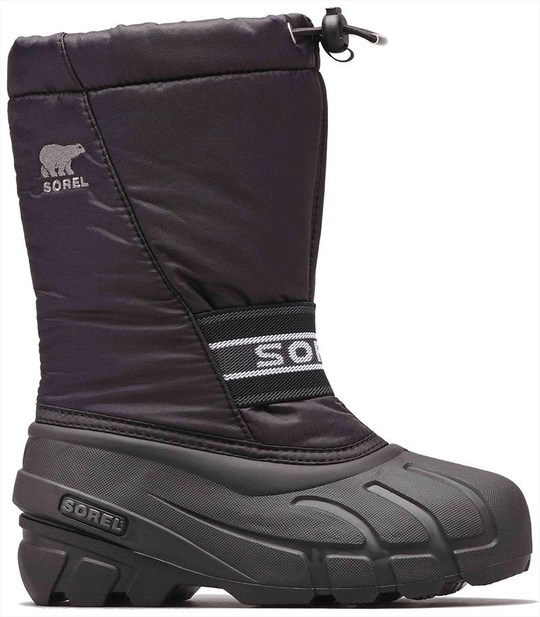 Sorel Child Unisex Cub Kid's Snow Boots, UK 2 Black