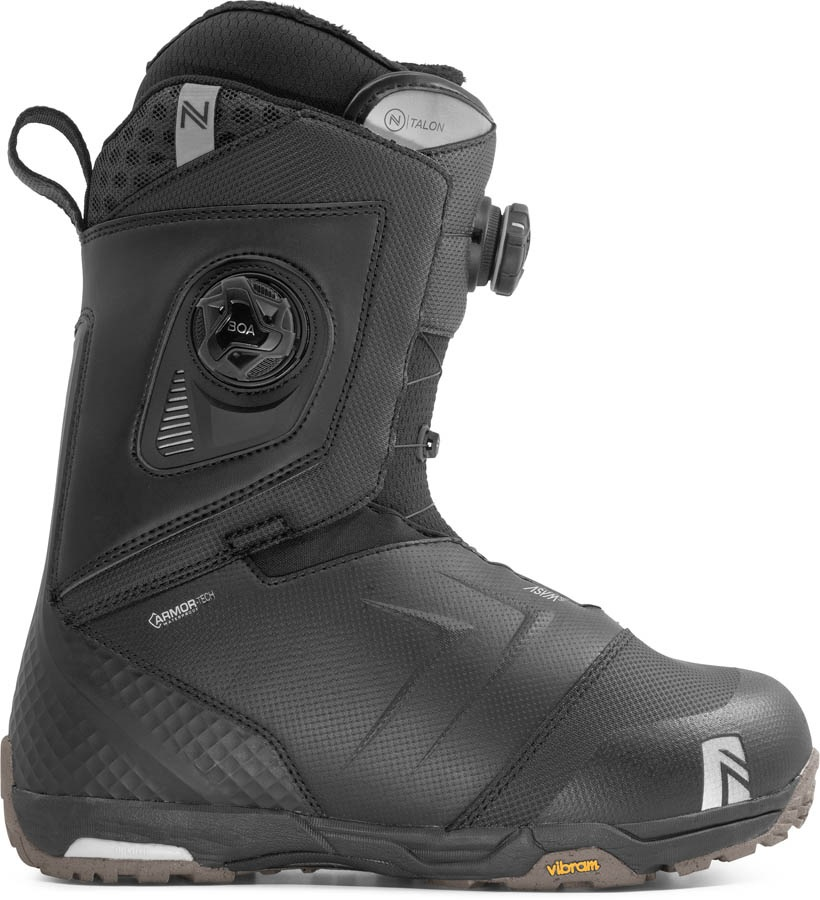 Nidecker Talon Focus Boa Snowboard Boots, UK 12 Black 2020