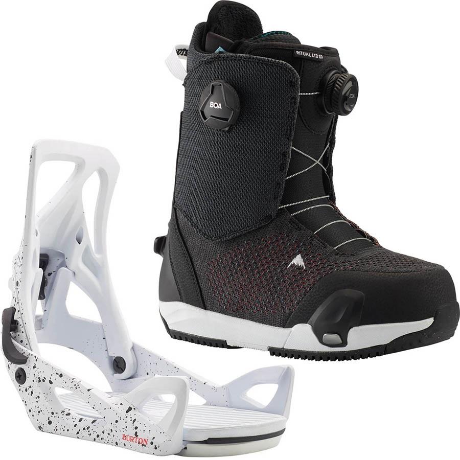 Burton Ritual LTD BOA Step On Womens Snowboard Binding & Boots UK 5.5
