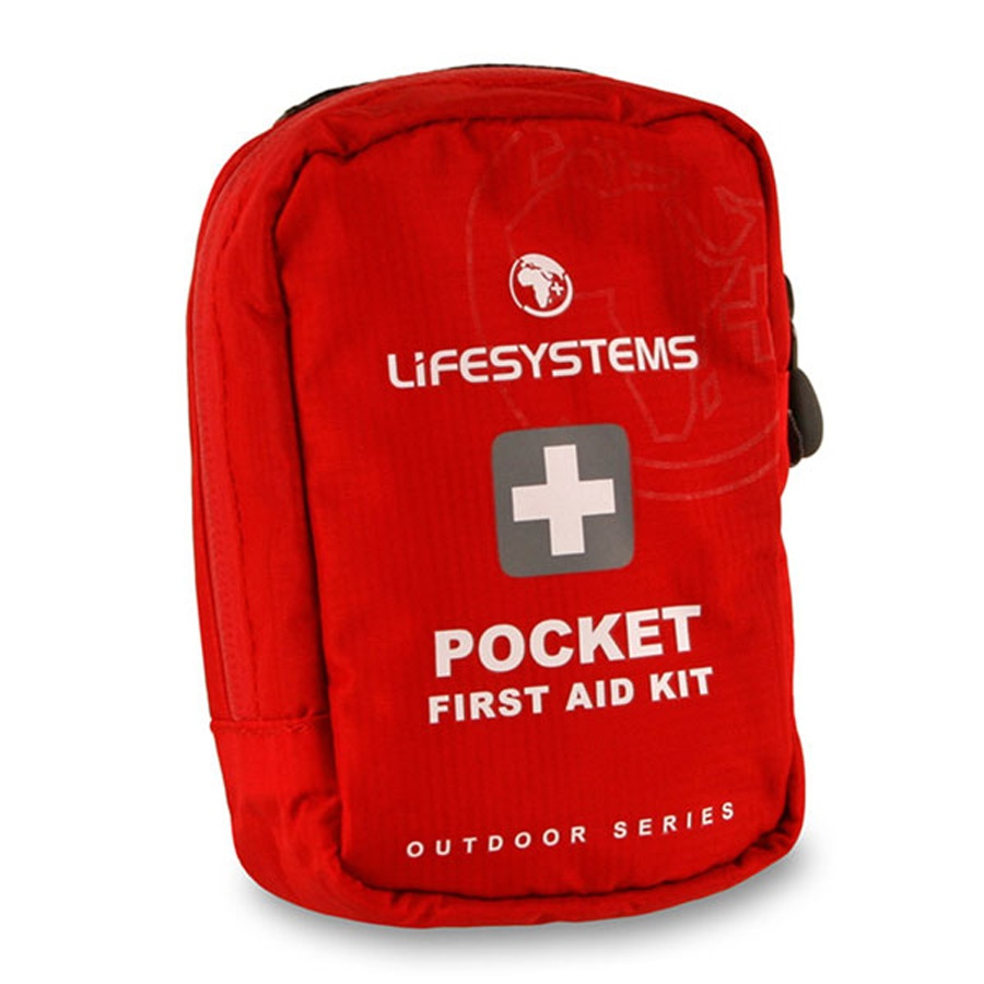 Lifesystems Pocket First Aid Kit 18 Items Red