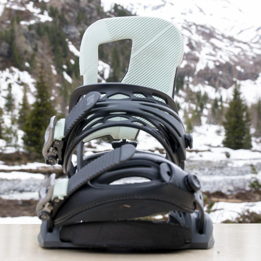 Burton Cartel Re:Flex Snowboard Bindings, Large All Eyez 2019