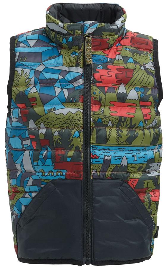 Burton Kids Evergreen Down Insulator Vest Body Warmer, 4T True Black