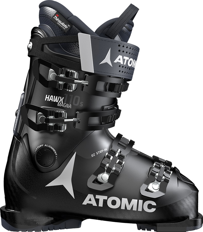 Atomic Hawx Magna 110S Men's Ski Boots, 27/27.5 Black/Dark Blue 2020