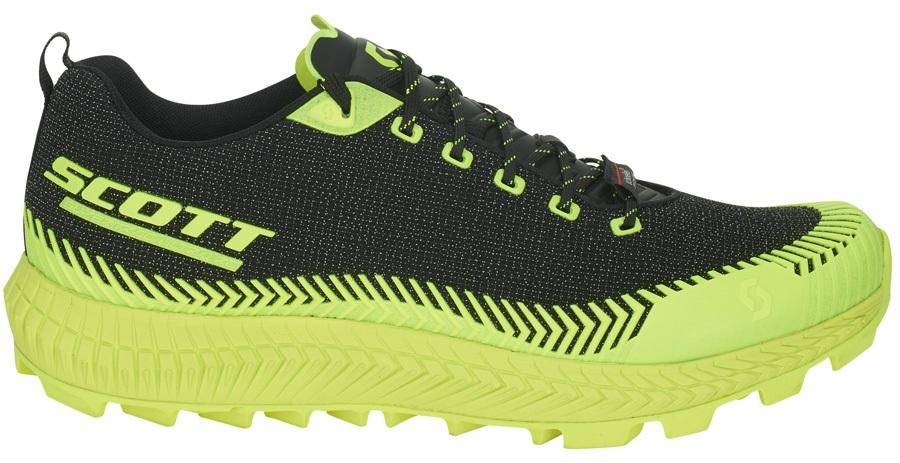 Scott Supertrac Ultra RC Trail Running Shoes, UK 9 Black/Yellow