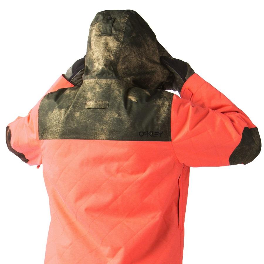 704cd4a16 Oakley Cedar Ridge Insulated Snowboard/Ski Jacket, L, Flare Orange