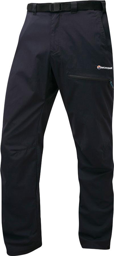 Montane Terra Pack Quick Dry Pants Mountain Trek Trousers, XL Black