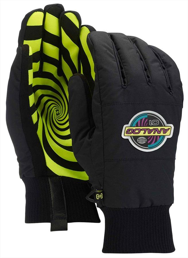 Analog Bartlett Ski/Snowboard Gloves, M Black