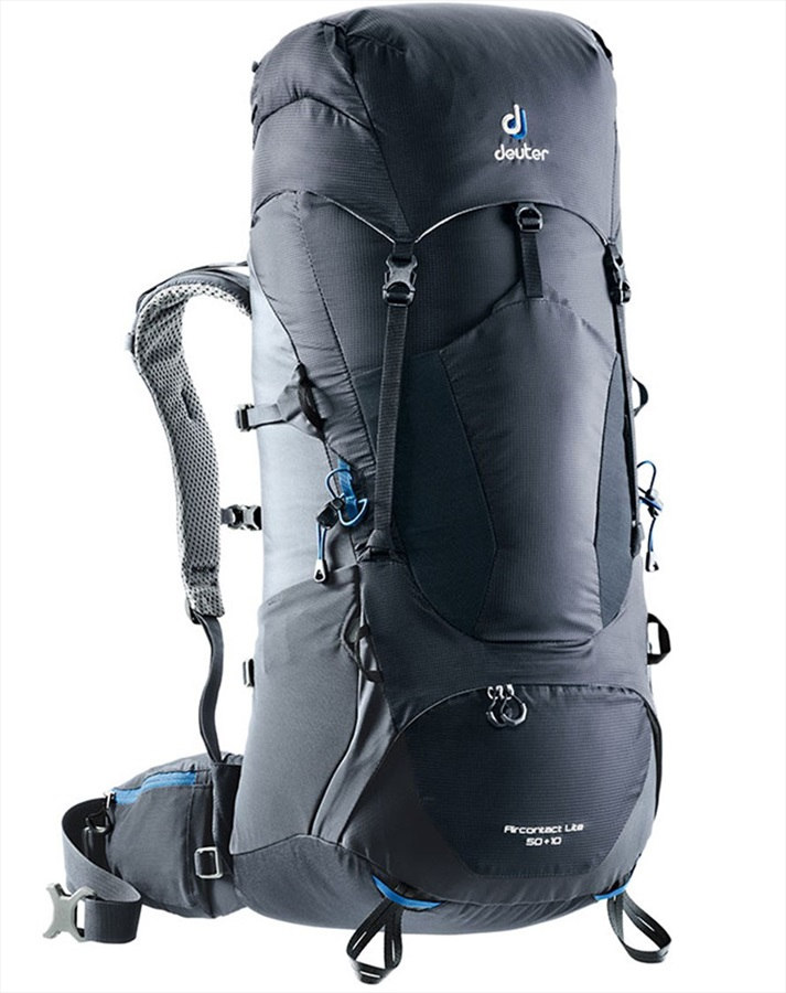 professionelle Website ästhetisches Aussehen heiß seeling original Deuter Aircontact Lite 65 + 10 Backpacking Rucksack, Black/Graphite