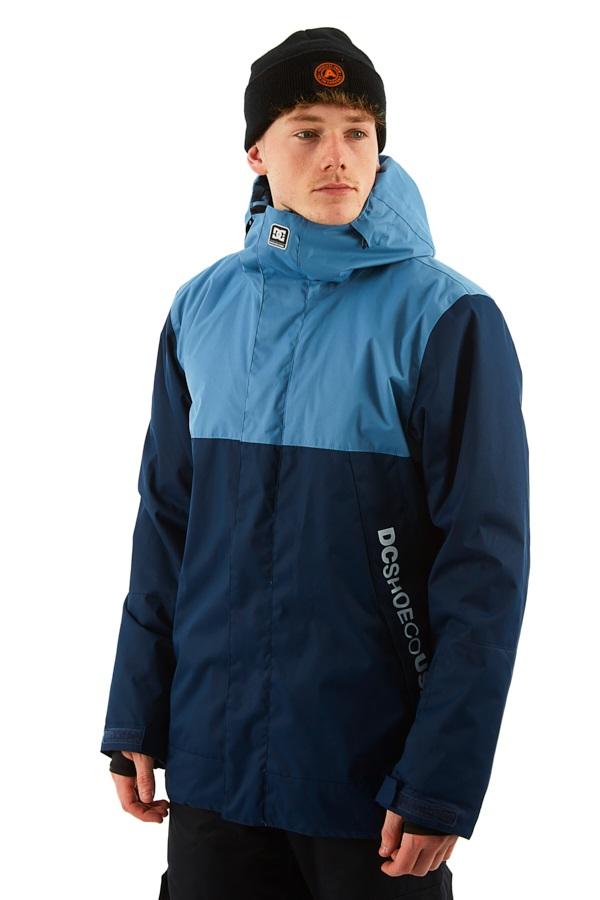 DC Defy Ski/Snowboard Jacket, M Coronet Blue