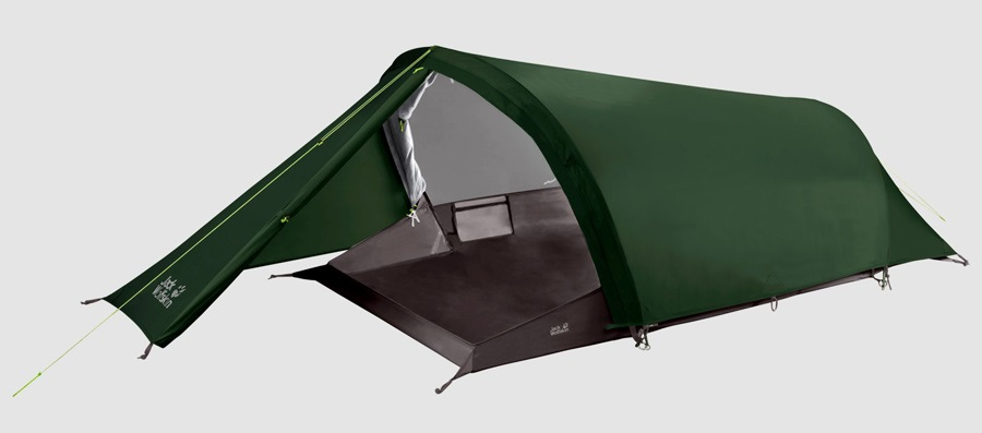 Jack Wolfskin Gossamer II Tent Camping & Backpacking Tent, 2 Man Green
