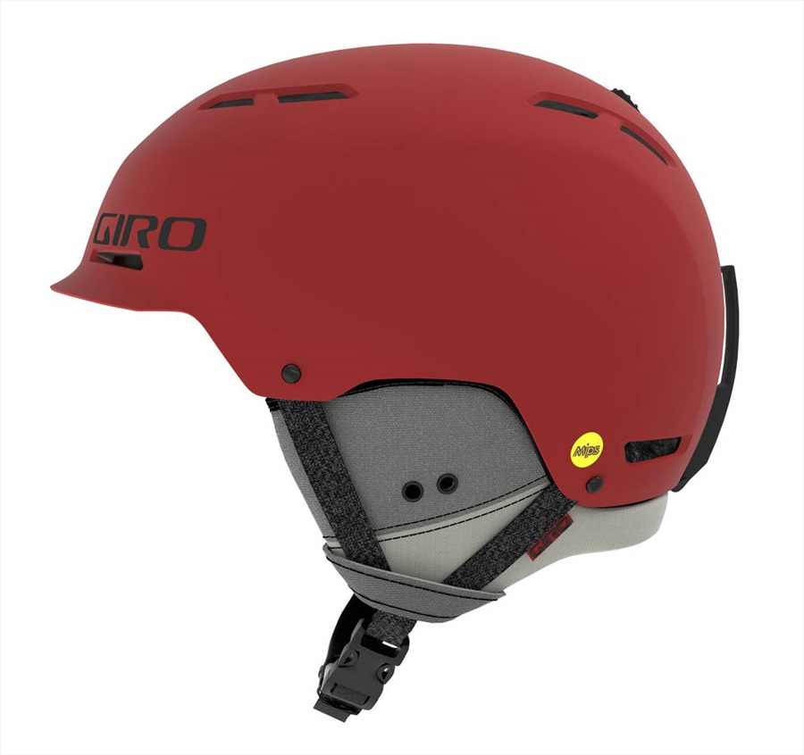Giro Adult Unisex Trig MIPS Snowboard/Ski Helmet, L Matte Dark Red
