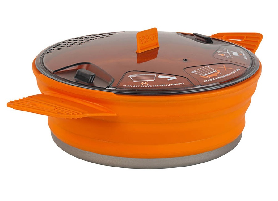 Sea to Summit X-Pot 1.4L Cooking Pot Camping Cookware 1.4L Orange