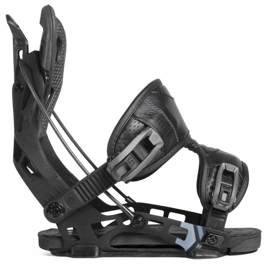 Flow NX2 Fusion Step In Snowboard Bindings, XL Black 2019
