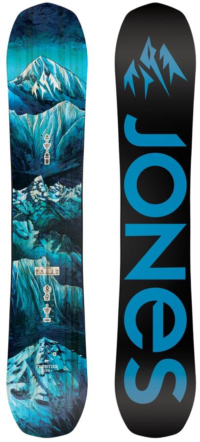 Jones Frontier Hybrid Camber Snowboard, 152cm 2020