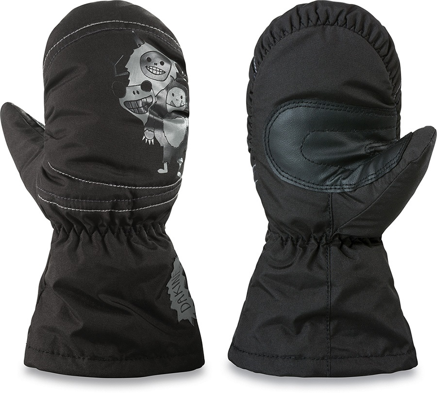 Dakine Hornet Kid's Ski/Snowboard Mitts, M Black Monster
