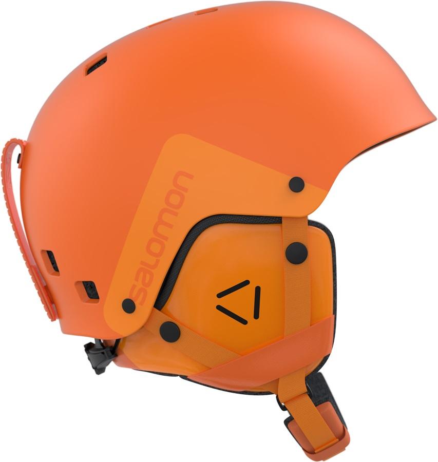Nouveaux produits d7e68 80eeb Salomon Brigade Snowboard/Ski Helmet, L, Turmeric Orange
