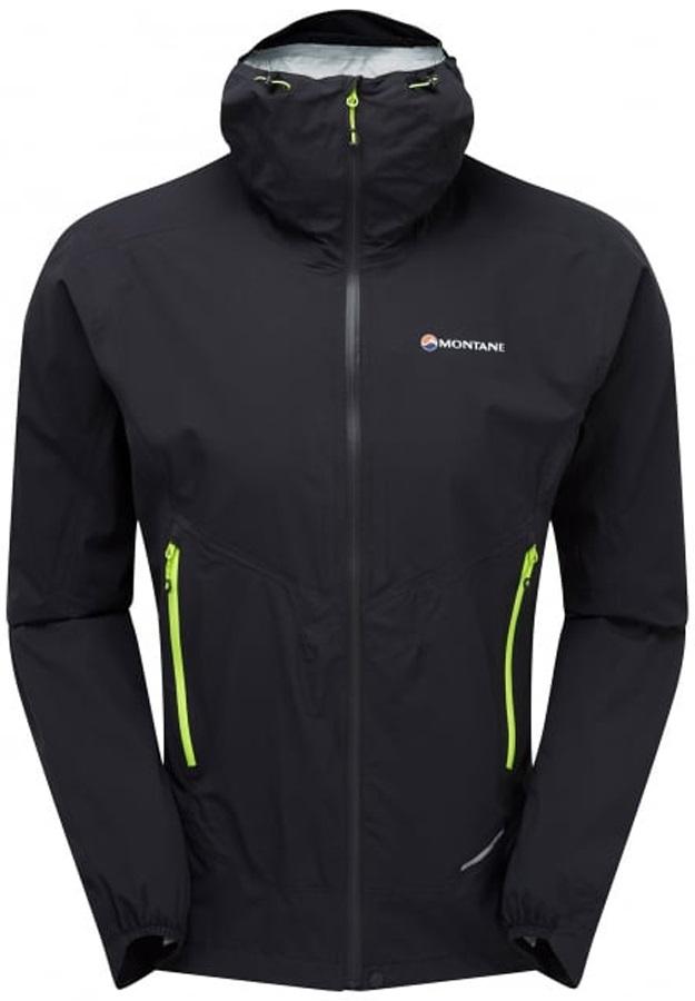Montane Minimus Stretch Ultra Waterproof Jacket, S Black