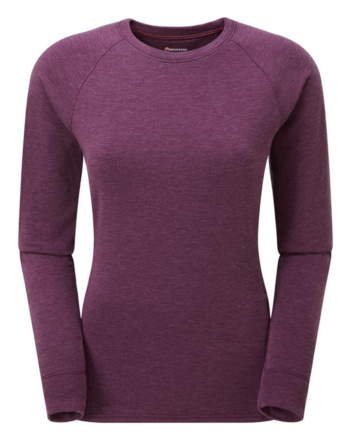Montane Viper Polartec Women's Fleece Pullover Top, L Berry