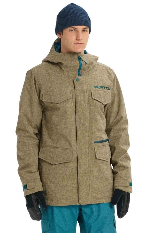 Burton Covert Ski/Snowboard Jacket, M Kelp Heather
