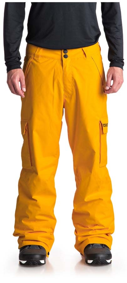 DC Banshee Ski/Snowboard Pants, L Golden Red