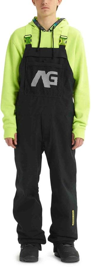 Analog Ice Out Bib Snowboard/Ski Pants, XL True Black