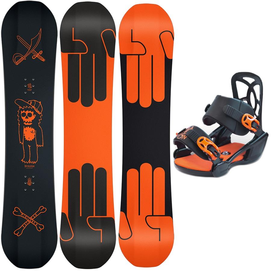 Bataleon Mini Shred Kids Snowboard & Binding Package 120cm