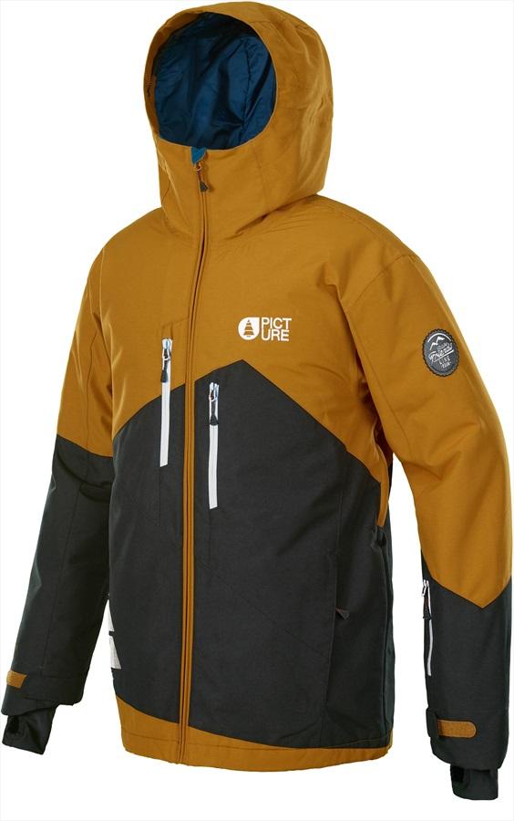 Picture Styler Ski/Snowboard Jacket, L Camel/Black