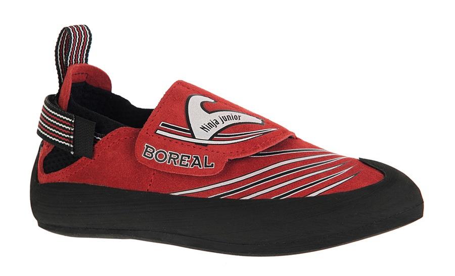 Boreal Ninja Junior Kid's Rock Climbing Shoe UK 9-10 | EU 27-28 Red