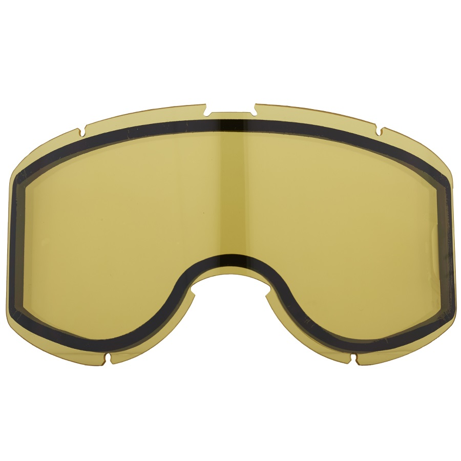 Sandbox Downflat Snowboard/Ski Goggle Spare Lens, One Size, Yellow