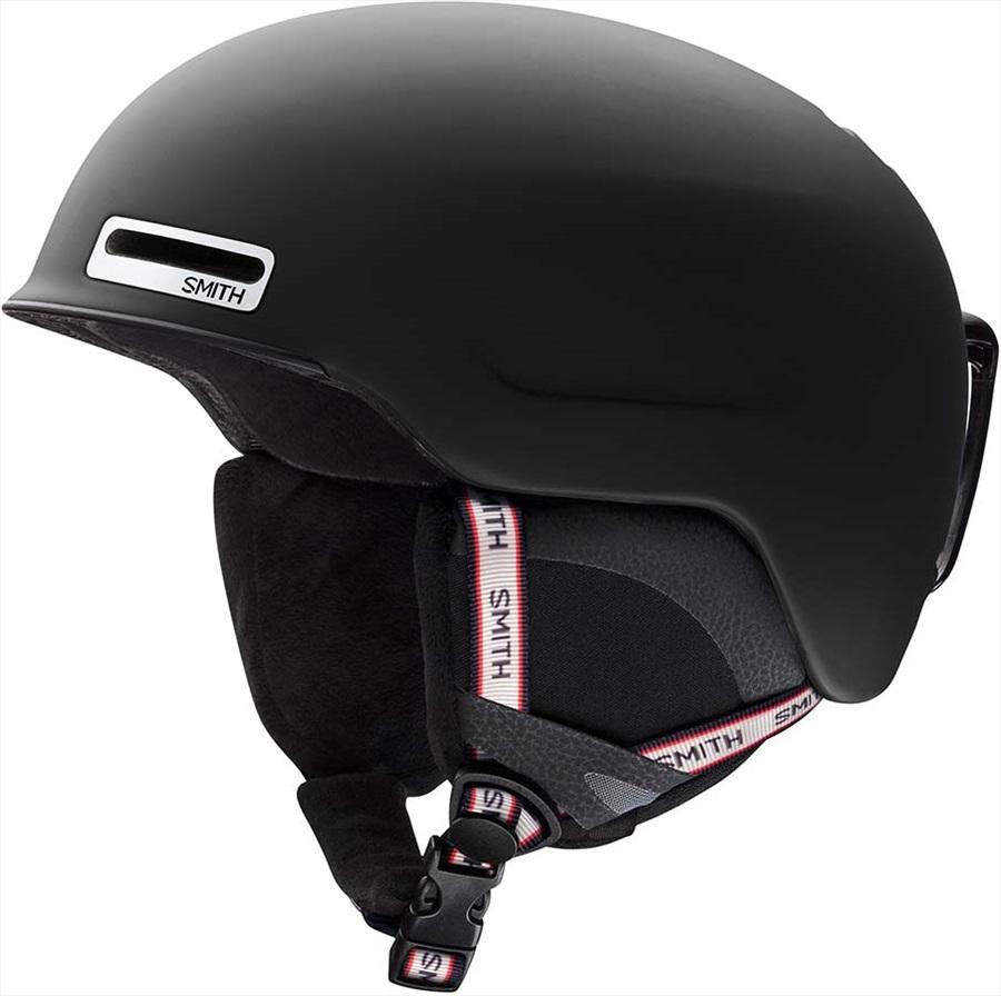 Smith Maze Snowboard/Ski Helmet, L Matte Black Repeat 2020