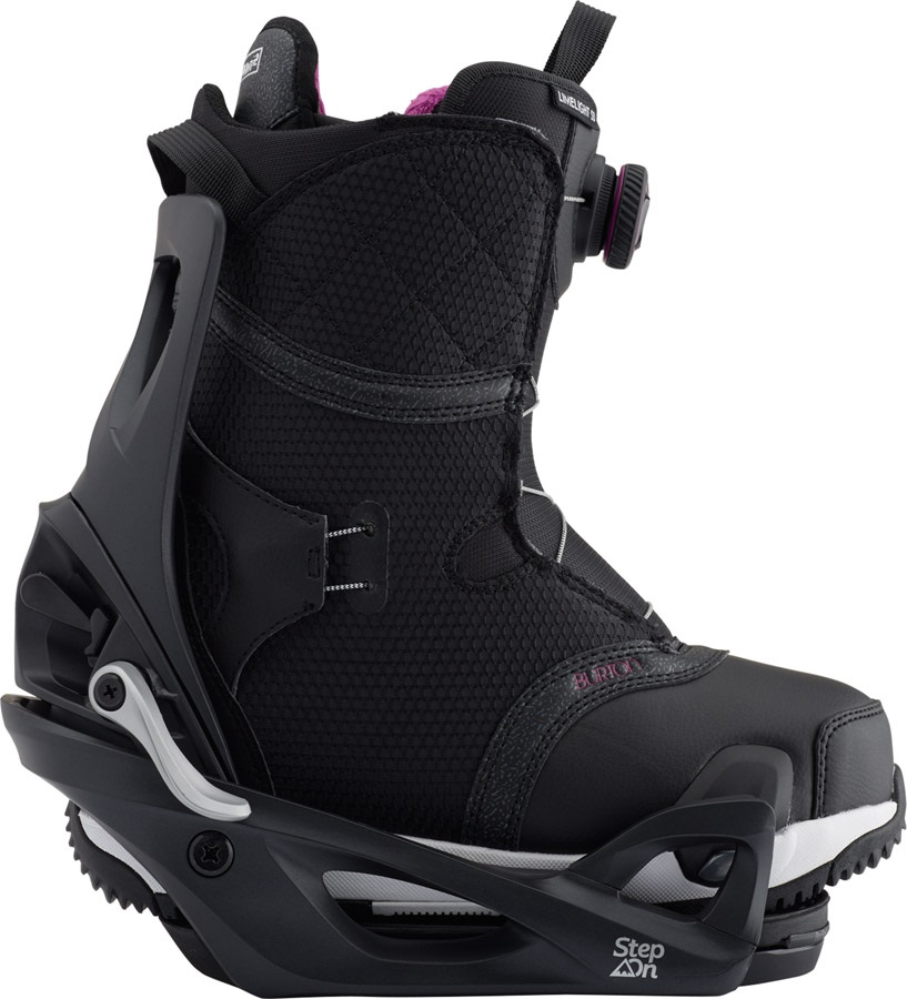 Burton Step On Womens Snowboard Binding & Boots, Limelight