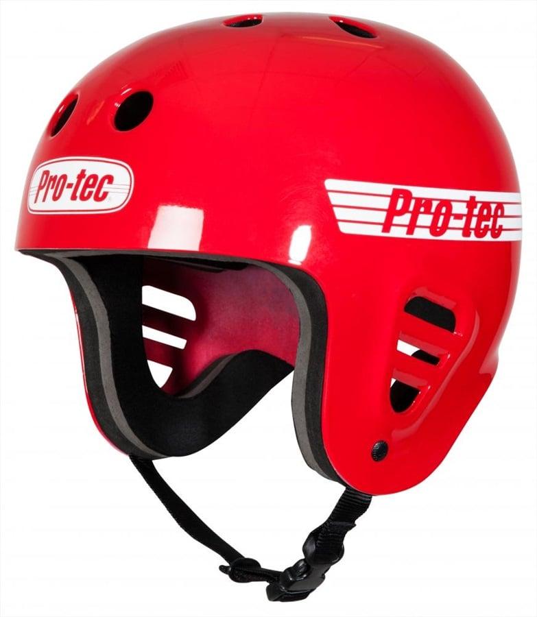Pro-tec Classic Full Cut Watersports Helmet, S Gloss Red 2019
